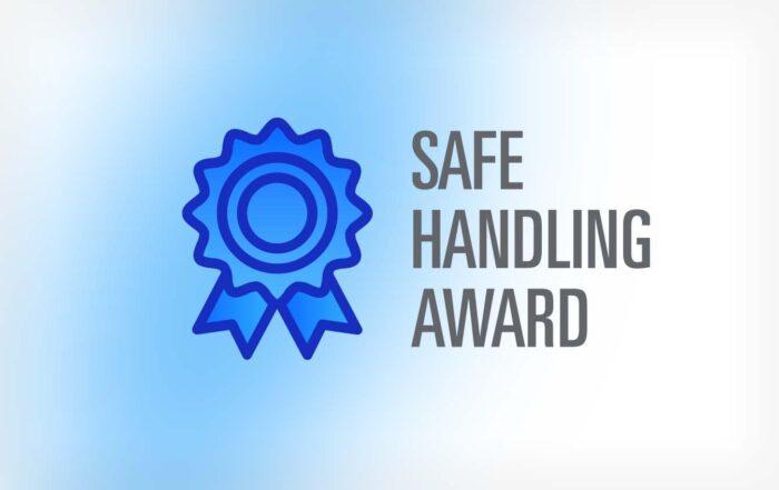 Blue Ribbon - Safe Handling Award