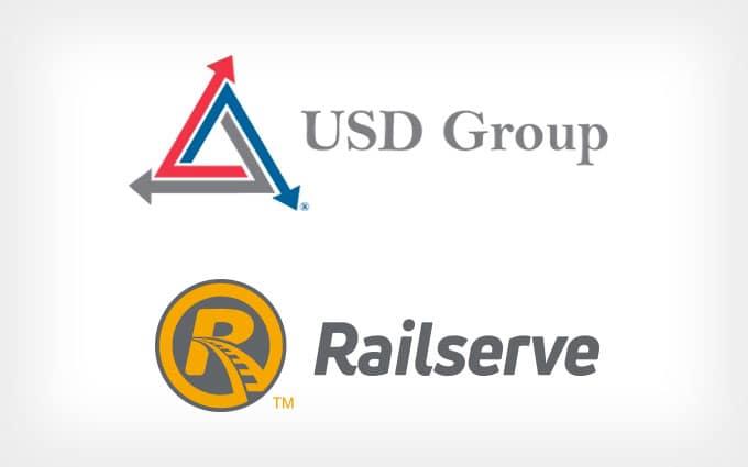 USD Group / Railserve logos