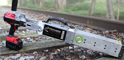 Photo SpikeEase, a tool for railroad spike removal