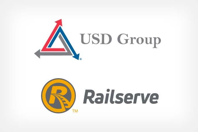 USD Group & Railserve logos