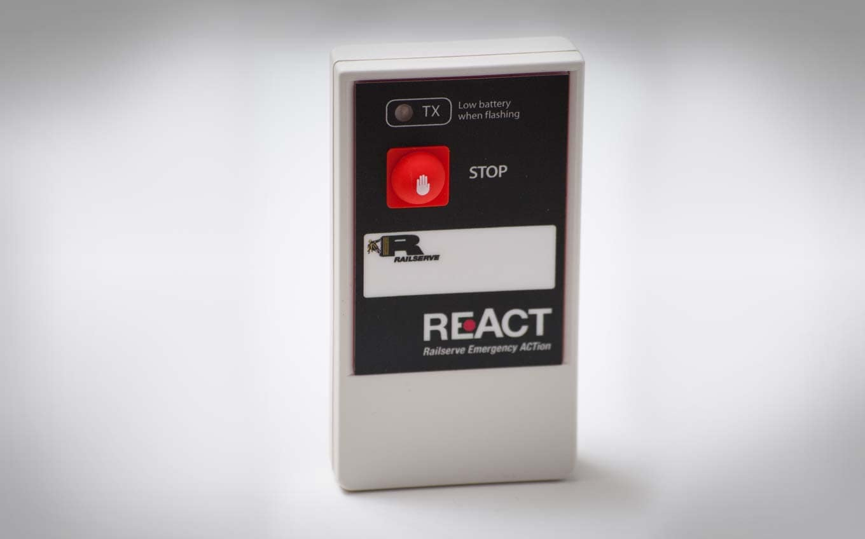 Photo of REAct device